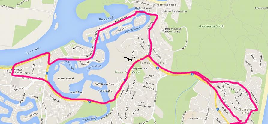 shuttle route